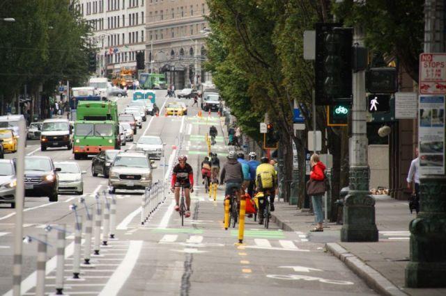 שביל אופניים בסיאטל